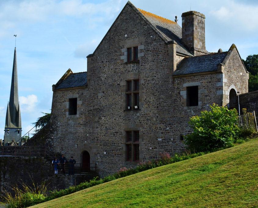 Tour intérieure Surienne du Château de Fougères