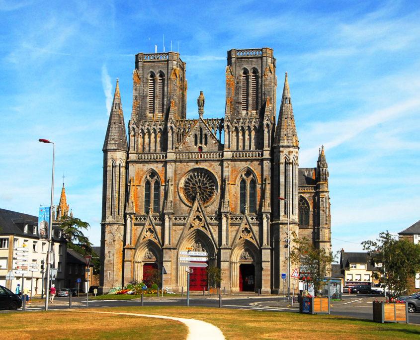 L'église Notre-Dame des Champs d'Avranches