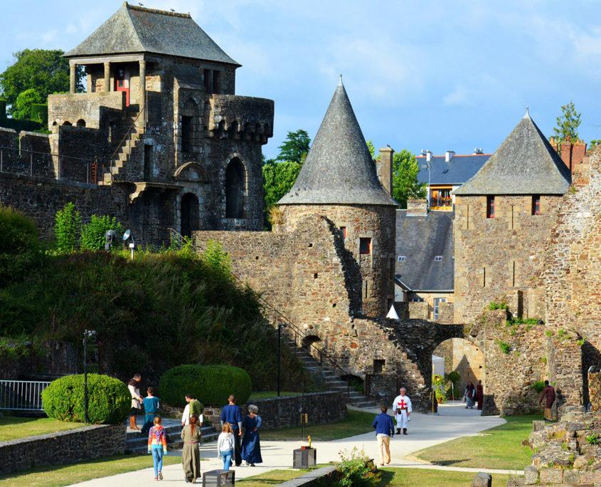 Fête médiévale au Château de Fougères