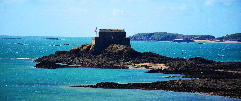 Le fort du Petit Bé à Saint-Malo