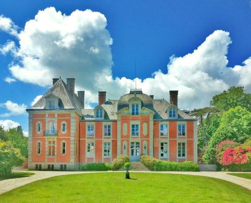 Le château de Chantore à Bacilly