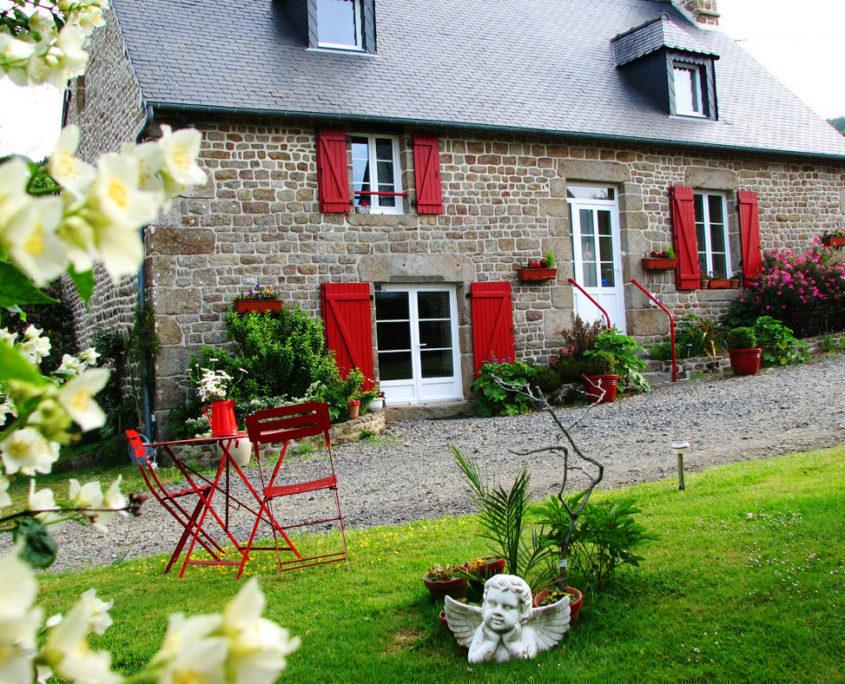 Maison d'hôte l'Angevinière près du Mont-Saint-Michel