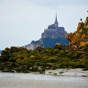 Le Mont-Saint-michel vu depuis le Mont Tomblaine