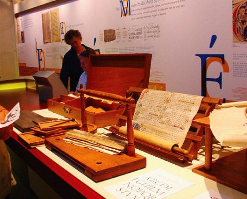 Le musée des manuscrits du Mont-Saint-Michel