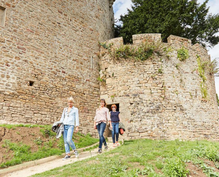 Visite du château d'Avranches