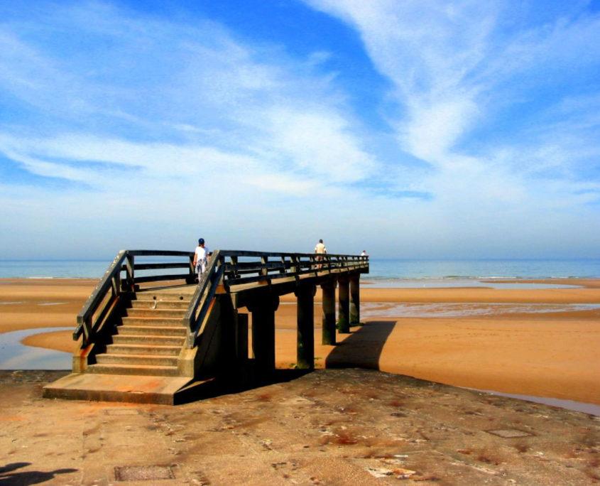 Omaha Beach, l'une des plages du débarquement