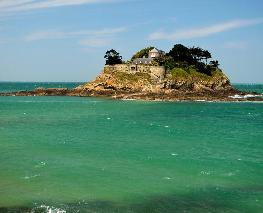 L'île et le Fort du Guesclin sur les côtes de Saint-Malo