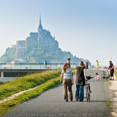 Balade au Mont-Saint-Michel en famille