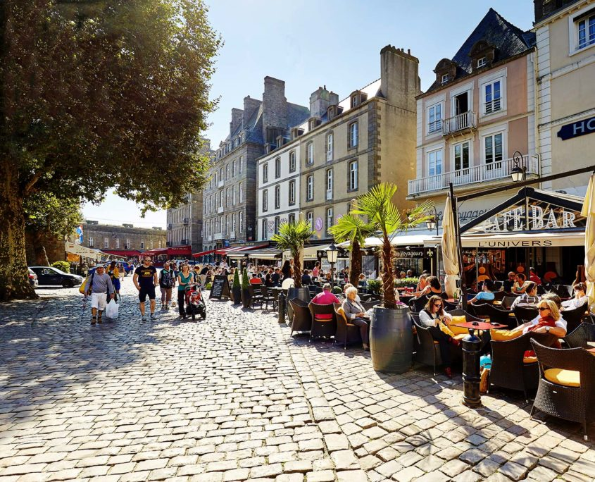 Balade dans les ruelles de Saint-Malo intra-muros