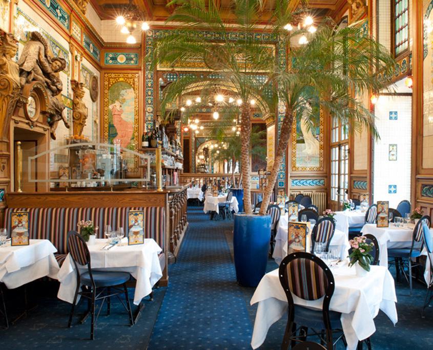 Brasserie historique la Cigale à Nantes