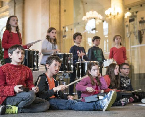 Eveil musical à l'orchestre symphonique de Bretagne