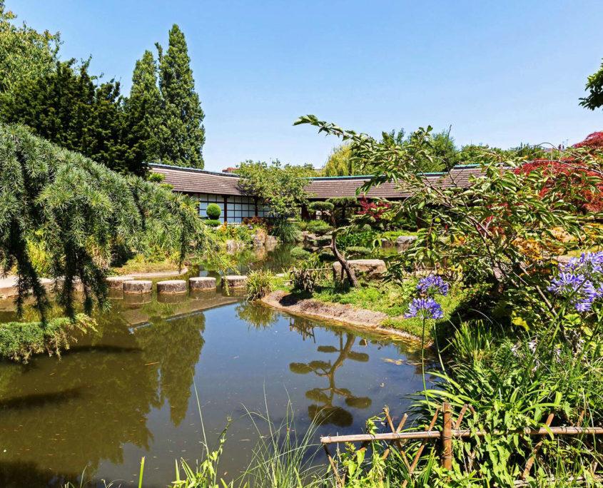 L'île de Versailles et le jardin japonais à Nantes