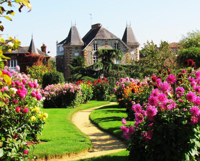 Le parc du Thabor de Rennes et ses jardins