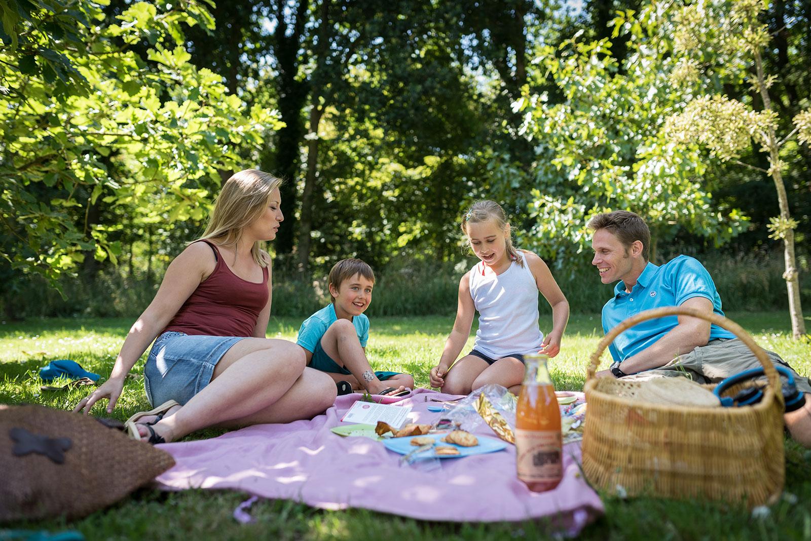Un pique-nique en famille