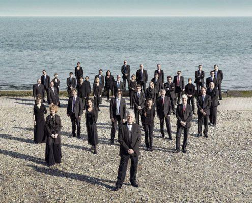 Les musiciens de l'Orchestre Symphonique de Bretagne