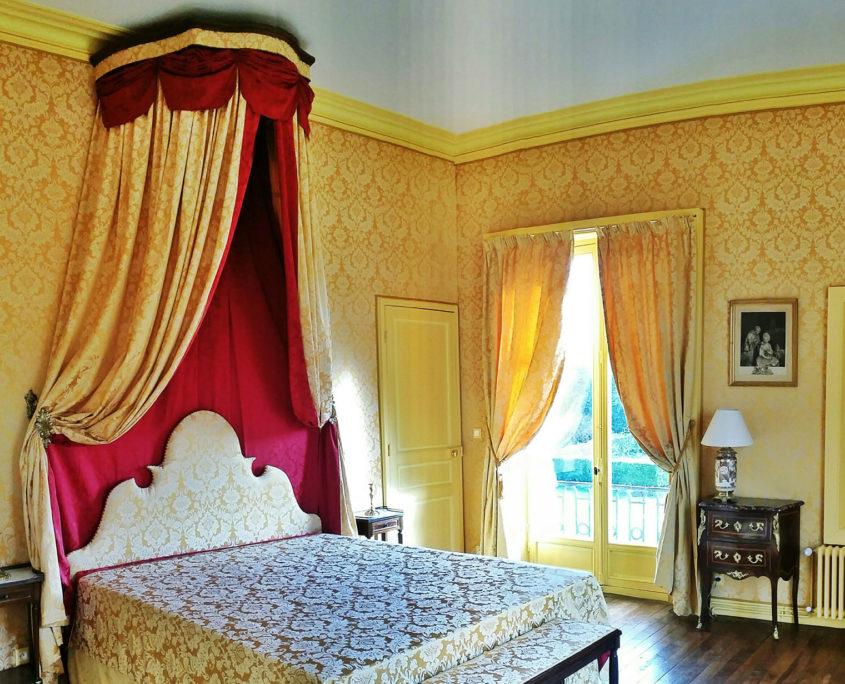 Chambre du château de Chantore