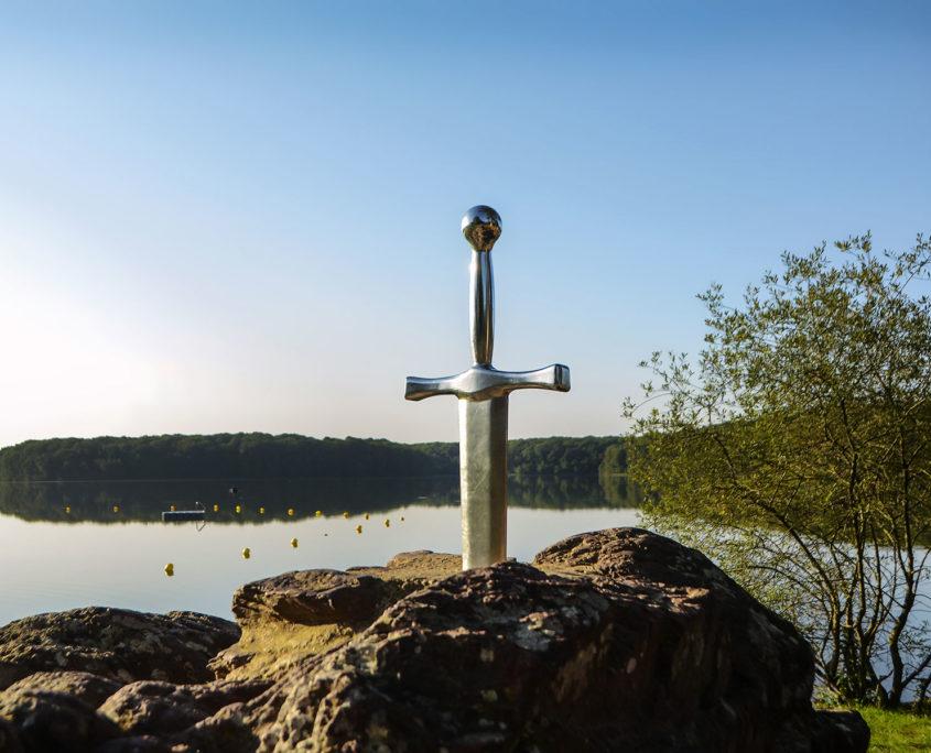 Excalibur et le lac de Tremelin