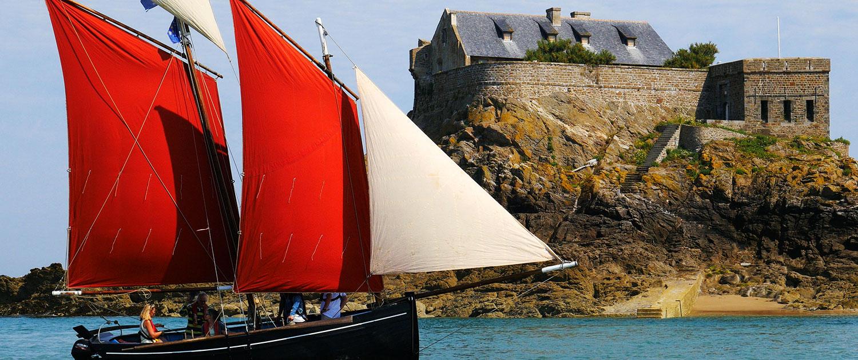 Balade en vieux grément à Saint-Malo