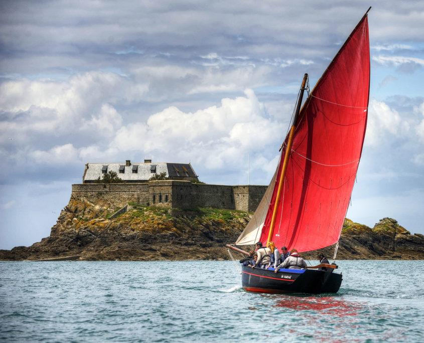 Balade en voilier à Saint-Malo