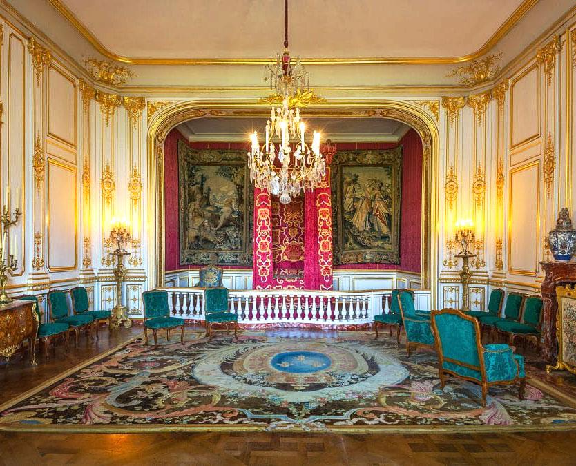 Chambre du château de Chambord