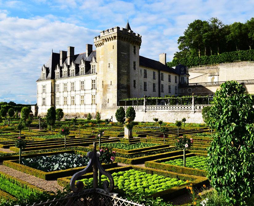 Le Château de Villandry et ses jardins