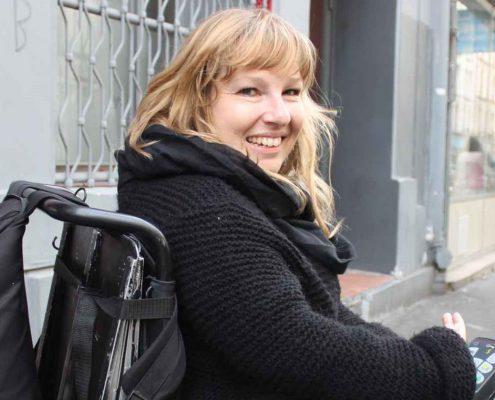 Marie Vampouille fondatrice et bénévole d'En van Simones