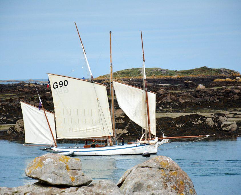 Balade en bateau aux îles Chausey