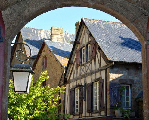 Intérieur du Mont-Saint-Michel