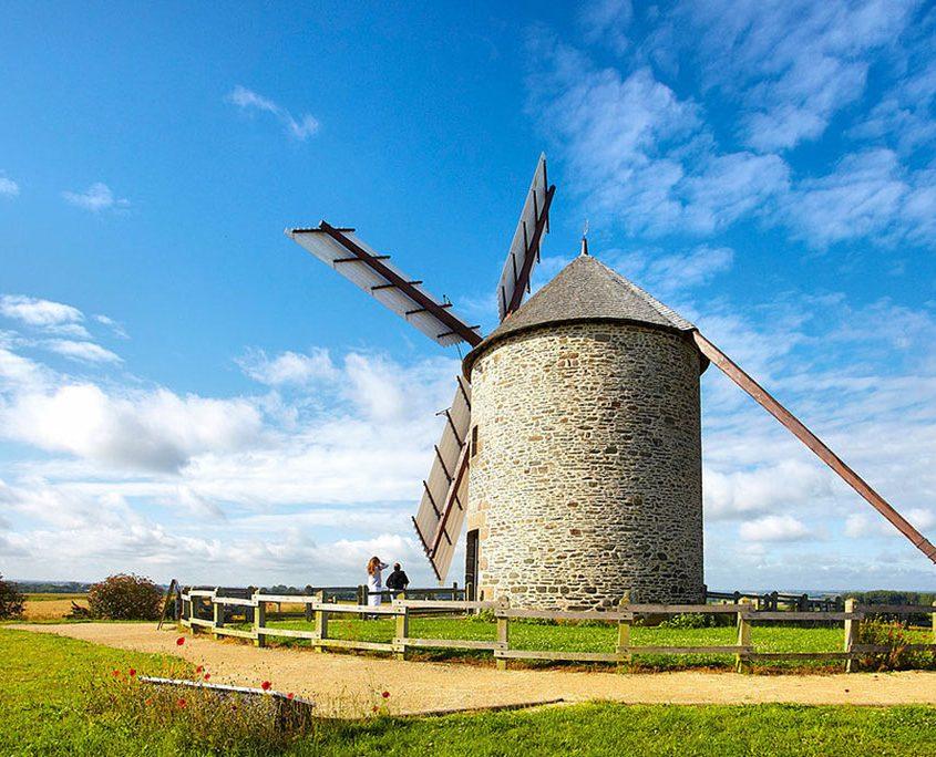 Le moulin de Moidrey près du Mont-Saint-Michel