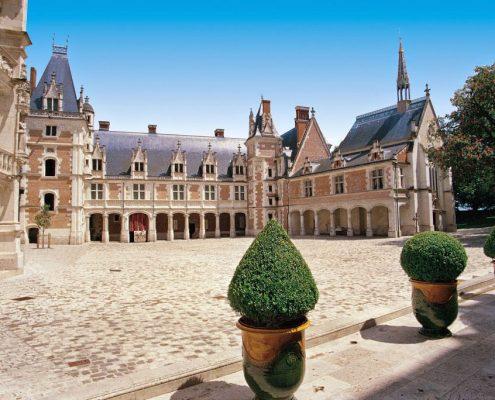 Cour intérieure du Château de Blois