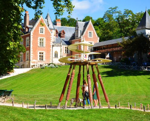 Parc du Château du Clos Lucé