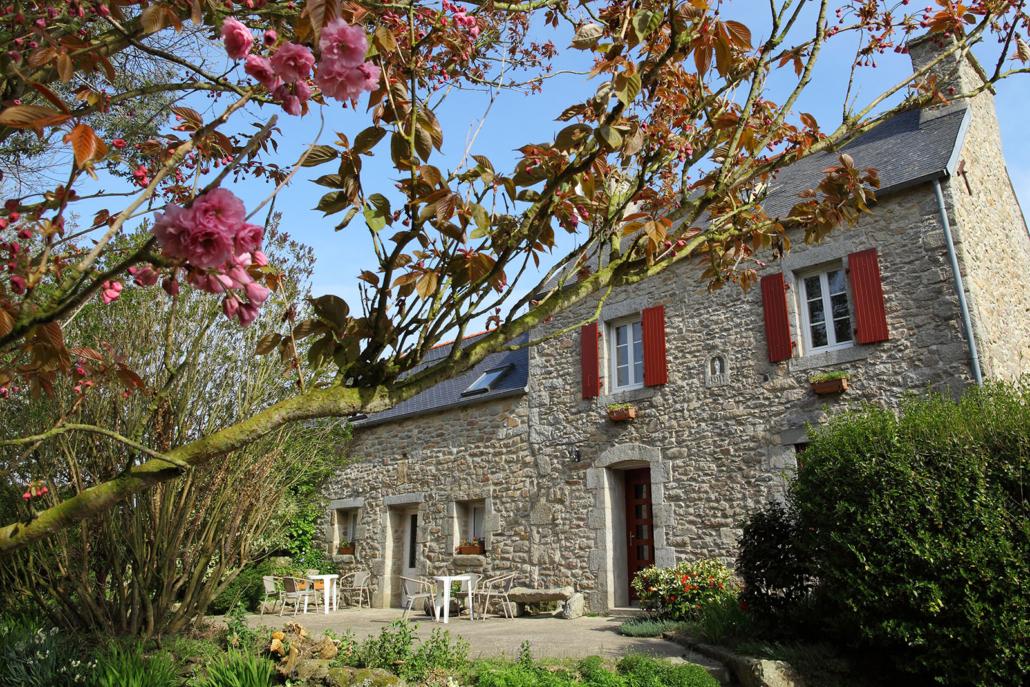Maison en pierre en Bretagne