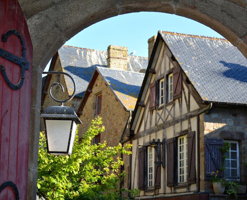 Maison à l'intérieur du Mont-Saint-Michel