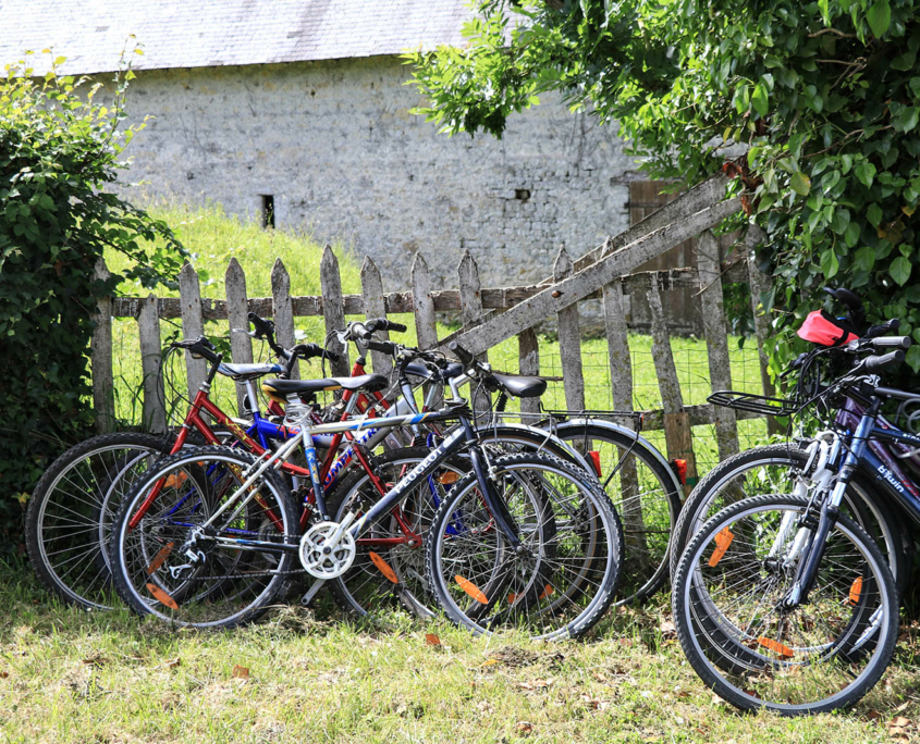 Balade à vélo dans les villages de la Baie du Mont-Saint-Michel